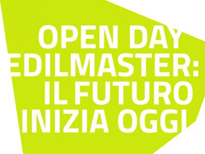 3° OPEN DAY EDILMASTER!