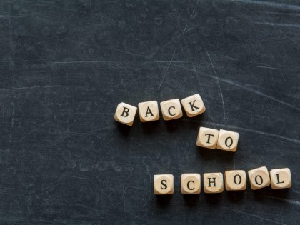 BACK TO SCHOOL!