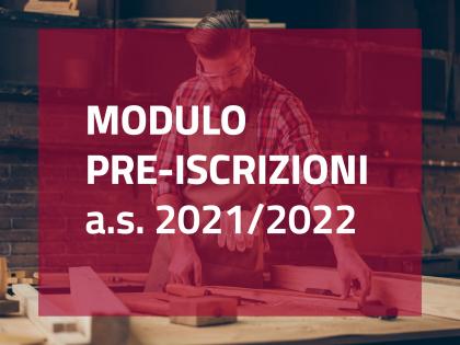 PRE-ISCRIZIONI 2021-2022